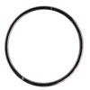 Rings Soldered Round Hematite
